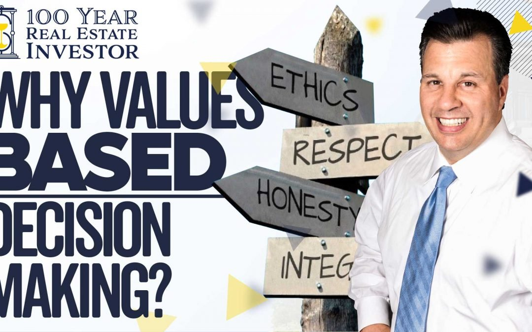 Why Values-Based Decision Making?